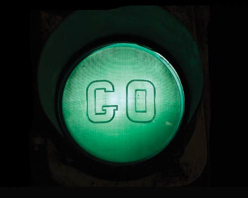 give me the green light