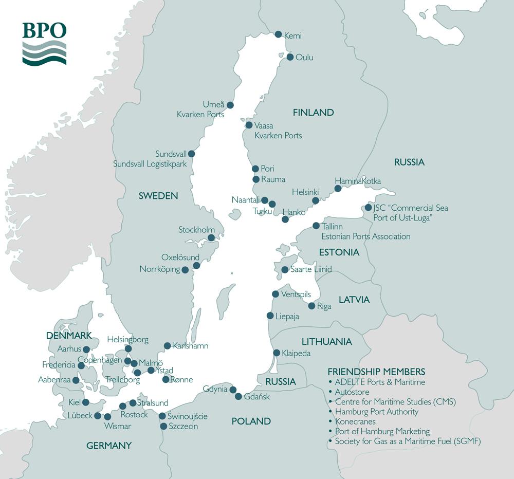 Baltic Ports Organization About BPO