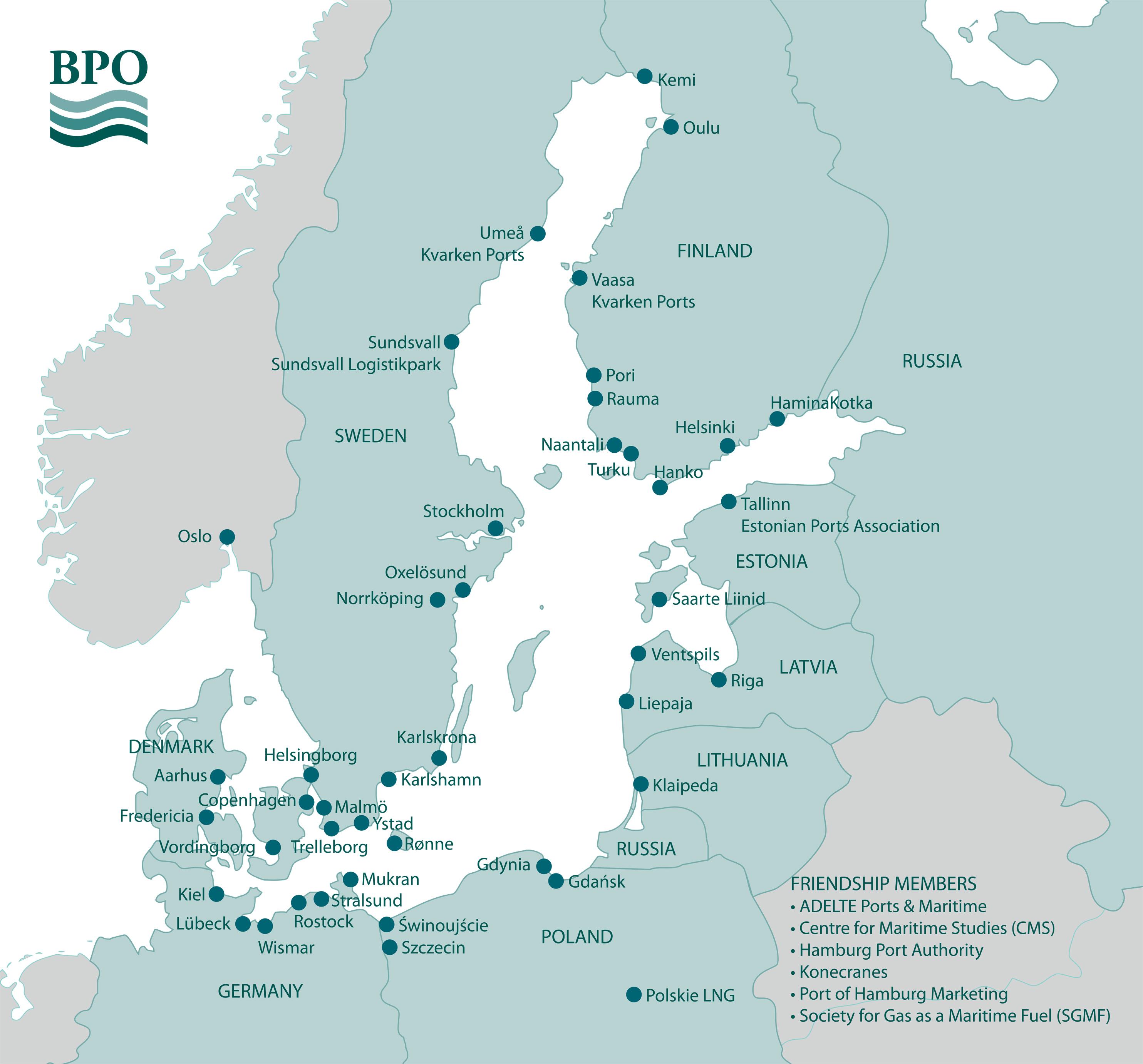Baltic Ports Organization - About BPO